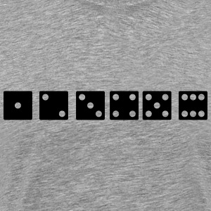 dice icons - Men's Premium T-Shirt