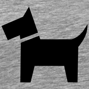 Dog pictogram - Men's Premium T-Shirt