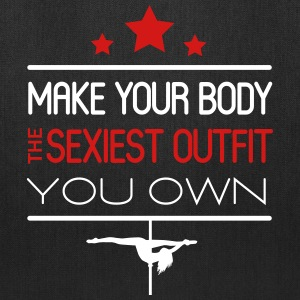 Pole dance: your body is the sexiest outfit Bags & backpacks - Tote Bag