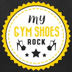 Pole dance: My gym shoes rock Bags & backpacks - Tote Bag