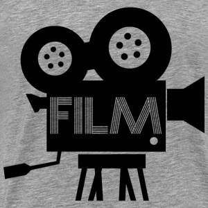 Old Fashioned Film Camera Icon - Men's Premium T-Shirt