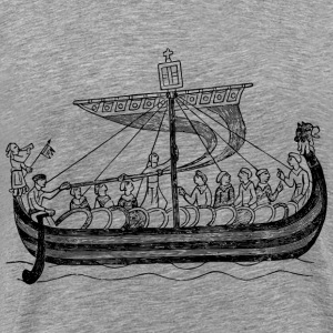 Ship from the time of William the Conqueror - Men's Premium T-Shirt