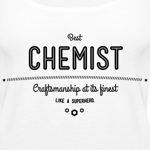 best chemist - craftsmanship at its finest Tanks - Women's Premium Tank Top