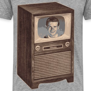 Retro TV - Men's Premium T-Shirt