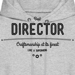 best director - craftsmanship at its finest Hoodies - Men's Hoodie