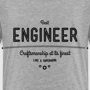 best engineer - craftsmanship at its finest Baby & Toddler Shirts - Toddler Premium T-Shirt