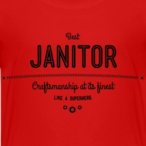 best janitor - craftsmanship at its finest Kids' Shirts - Kids' Premium T-Shirt