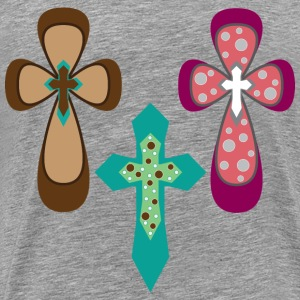 Ornamental Crosses - Men's Premium T-Shirt