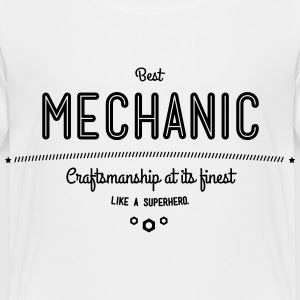 best mechanic - craftsmanship at its finest Baby & Toddler Shirts - Toddler Premium T-Shirt