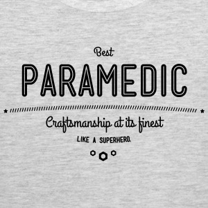 best paramedic - craftsmanship at its finest Sportswear - Men's Premium Tank