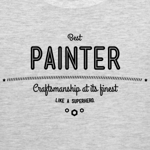 best painter - craftsmanship at its finest Sportswear - Men's Premium Tank