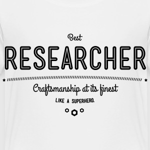best researcher - craftsmanship at its finest Baby & Toddler Shirts - Toddler Premium T-Shirt