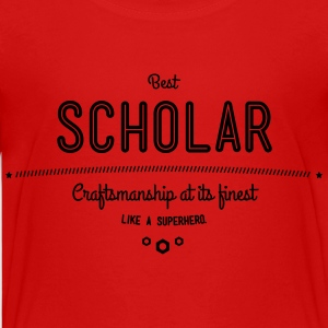 best scholar - craftsmanship at its finest Kids' Shirts - Kids' Premium T-Shirt