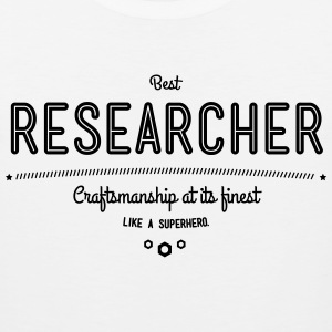 best researcher - craftsmanship at its finest Sportswear - Men's Premium Tank