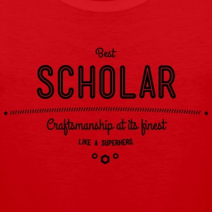 best scholar - craftsmanship at its finest Sportswear - Men's Premium Tank