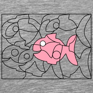 solution image fish - Men's Premium T-Shirt