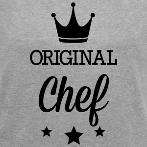 Original chef T-Shirts - Women´s Roll Cuff T-Shirt
