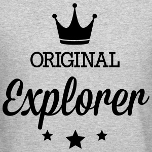 Original explorer Long Sleeve Shirts - Crewneck Sweatshirt