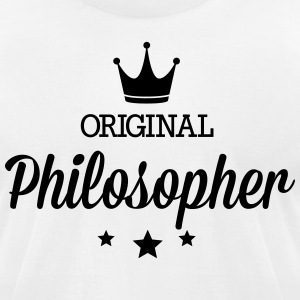 Original philosopher T-Shirts - Men's T-Shirt by American Apparel