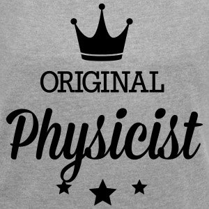 Original physicist T-Shirts - Women´s Roll Cuff T-Shirt