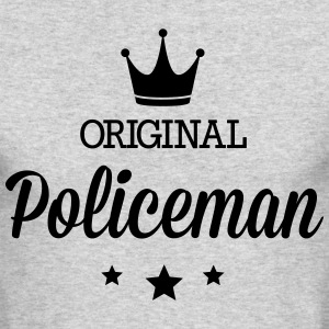 Original policeman Long Sleeve Shirts - Men's Long Sleeve T-Shirt by Next Level
