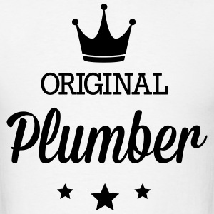 Original plumber T-Shirts - Men's T-Shirt
