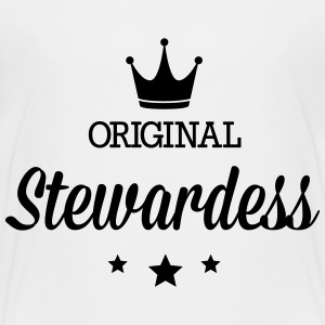 Original stewardess Baby & Toddler Shirts - Toddler Premium T-Shirt