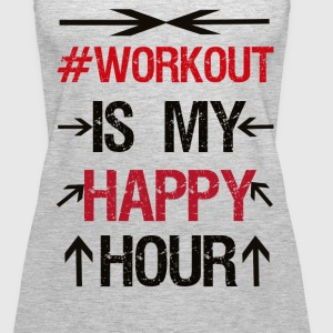 Workout - Women's Premium Tank Top