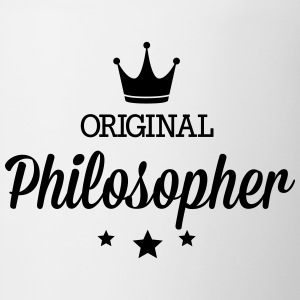 Original philosopher Mugs & Drinkware - Contrast Coffee Mug