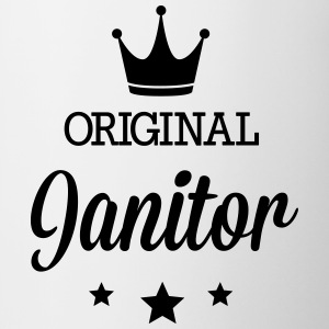 Original janitor Mugs & Drinkware - Contrast Coffee Mug