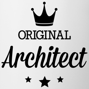 Original architect Mugs & Drinkware - Contrast Coffee Mug