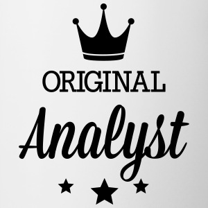 Original analyst Mugs & Drinkware - Contrast Coffee Mug