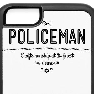 best policeman - craftsmanship at its finest Phone & Tablet Cases - iPhone 6/6s Rubber Case