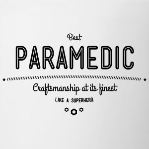 best paramedic - craftsmanship at its finest Mugs & Drinkware - Contrast Coffee Mug