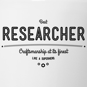 best researcher - craftsmanship at its finest Mugs & Drinkware - Coffee/Tea Mug