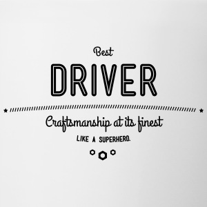 best driver - craftsmanship at its finest Mugs & Drinkware - Contrast Coffee Mug