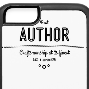 best author - craftsmanship at its finest Phone & Tablet Cases - iPhone 6/6s Rubber Case