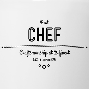 best chef - craftsmanship at its finest Mugs & Drinkware - Coffee/Tea Mug