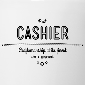 best cashier - craftsmanship at its finest Mugs & Drinkware - Coffee/Tea Mug