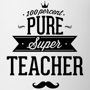 100 percent pure super teacher Mugs & Drinkware - Coffee/Tea Mug