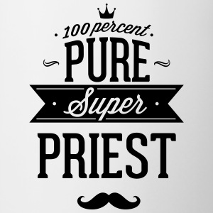 100 percent pure super priest Mugs & Drinkware - Contrast Coffee Mug