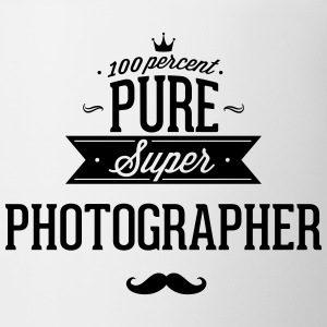 100 percent pure super photographer Mugs & Drinkware - Coffee/Tea Mug
