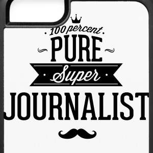 100 percent pure super journalist Phone & Tablet Cases - iPhone 6/6s Rubber Case