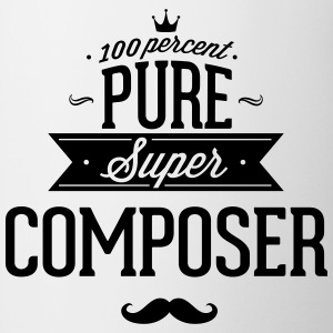 100 percent pure super composer Mugs & Drinkware - Contrast Coffee Mug