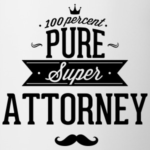 100 percent pure super attorney Mugs & Drinkware - Contrast Coffee Mug