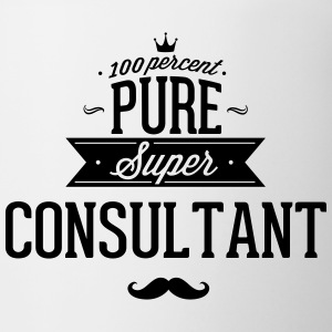 100 percent pure super consultant Mugs & Drinkware - Coffee/Tea Mug
