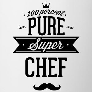 100 percent pure super chef Mugs & Drinkware - Contrast Coffee Mug