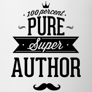 100 percent pure super author Mugs & Drinkware - Coffee/Tea Mug