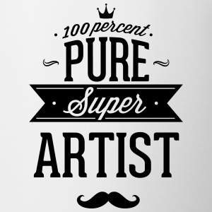 100 percent of pure Super artist Mugs & Drinkware - Coffee/Tea Mug
