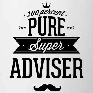 100 percent pure super adviser Mugs & Drinkware - Contrast Coffee Mug